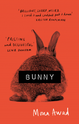 Bunny cover with an image of a rabbit